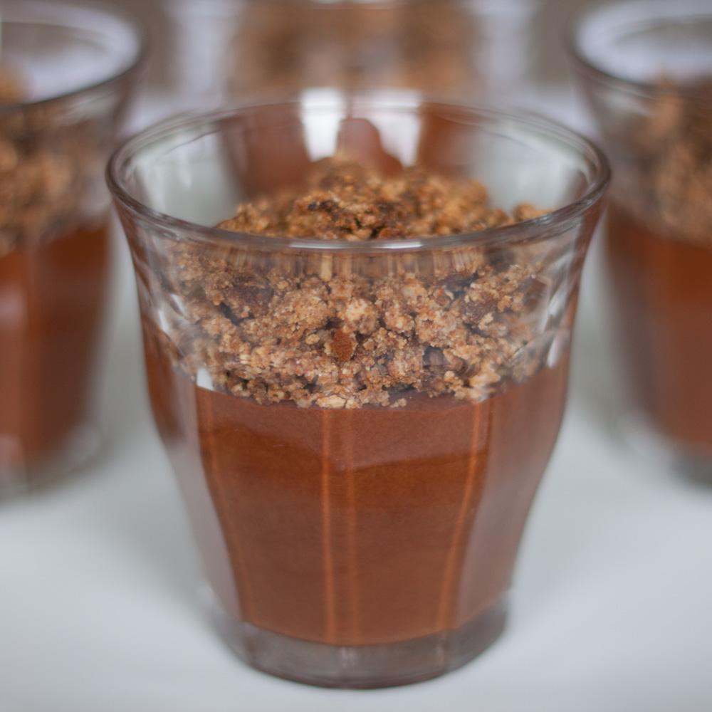 Mousse au chocolat sans oeufs !