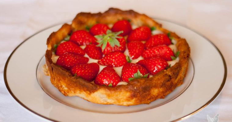 Tarte aux fraises feuilletage mystère !