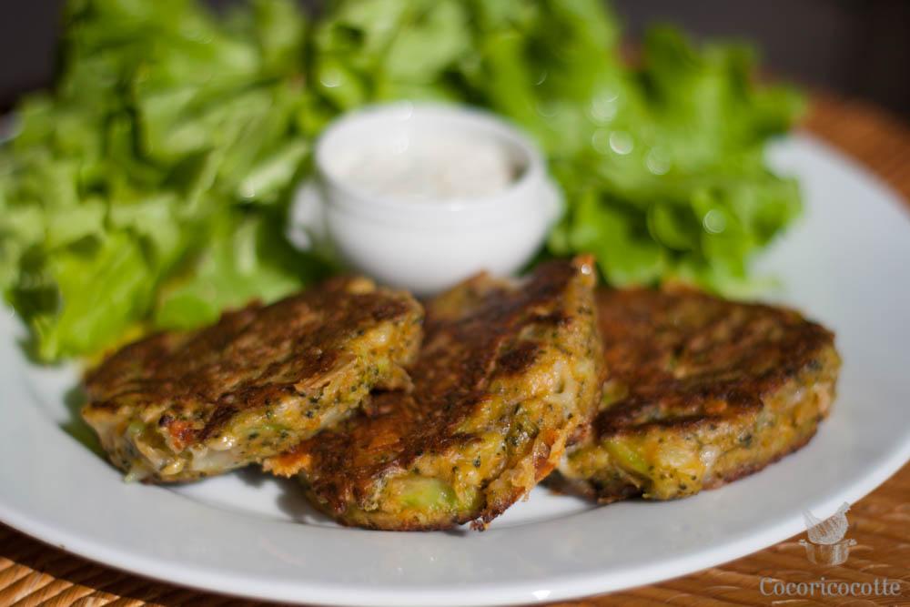 Croq'galette aux légumes planqués !