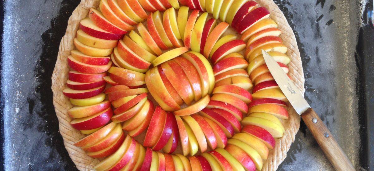 Tarte aux pommes feuilletage express